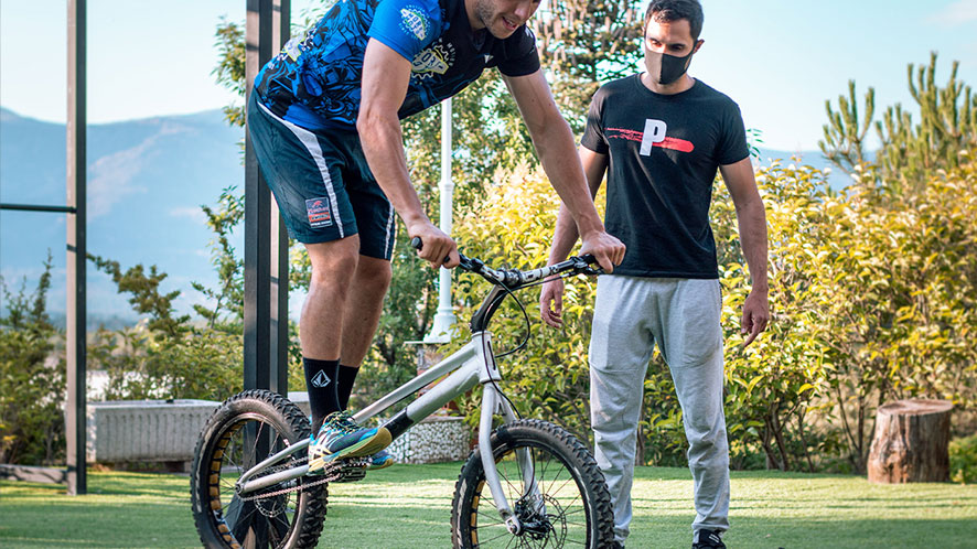 balance exercises to improve on the dirt bike