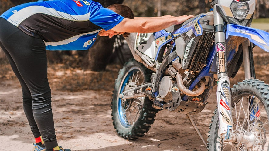 recover fast after riding or racing with the dirt bike