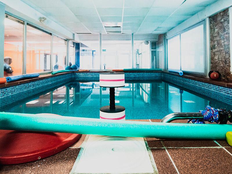 natación para recuperación