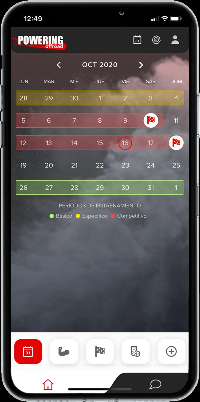 ES - calendario periodos