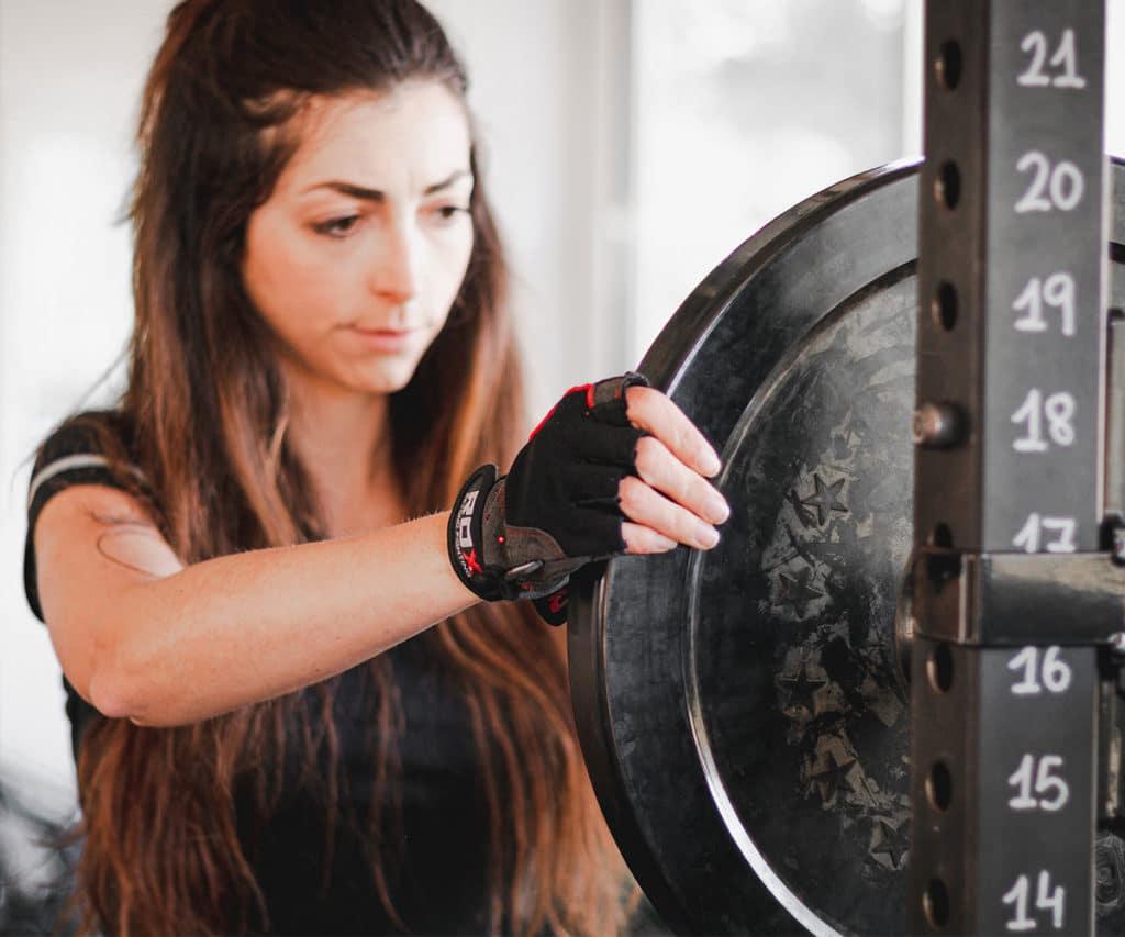 Discos pesas para gimnasio