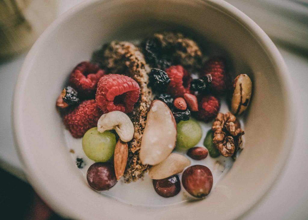 Snack dieta para deportistas