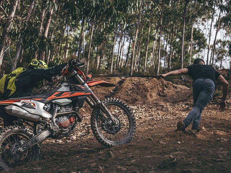 Arrastrando la moto