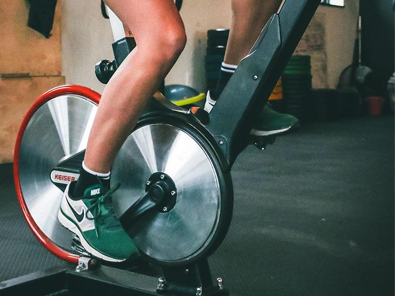 rutina de entrenamiento para bicileta estática powering offroad